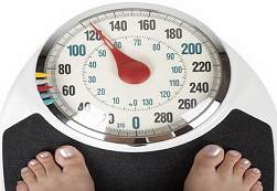 set of weight scales