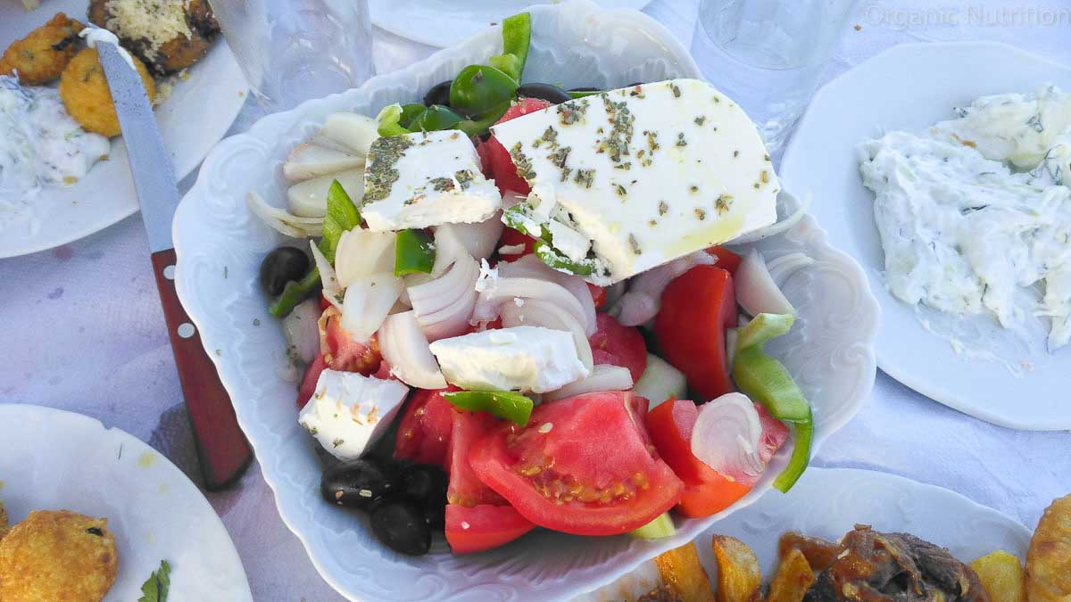wonderful healthy foods from the mediterranean region