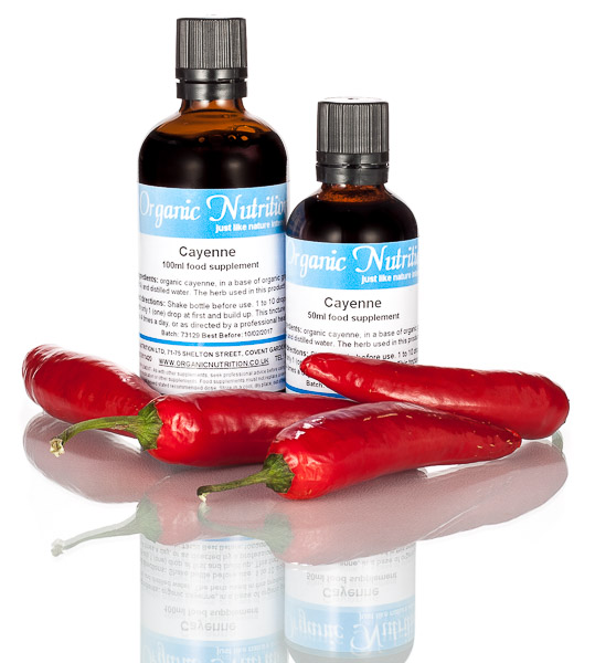 Cayenne pepper tincture