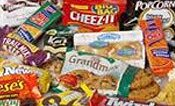 Junks snacks add lots of calories